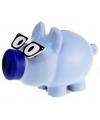 Spaarvarken blauw