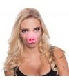 Feestartikelen varkens neus masker